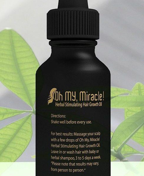 2-month herbal hair growth oil